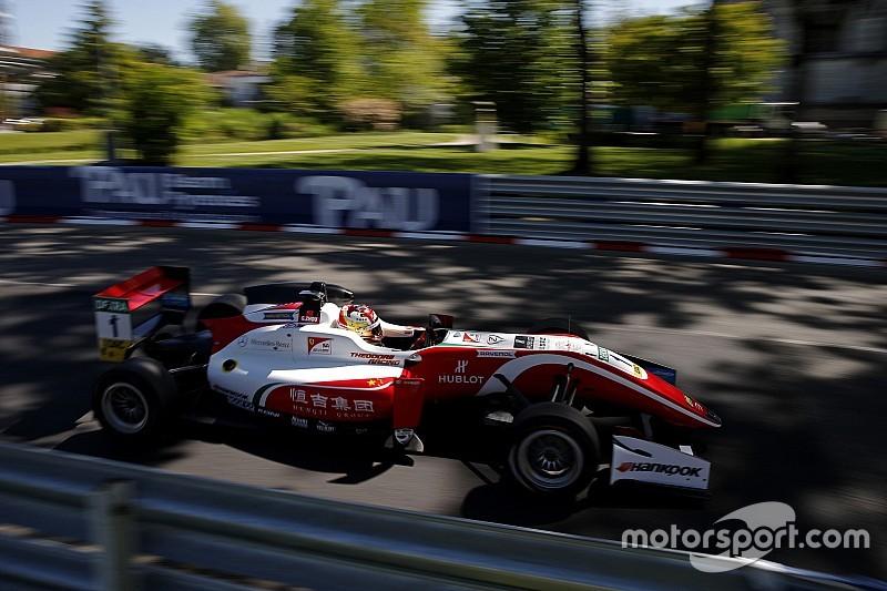 Чжоу выиграл первую гонку сезона европейской Формулы 3