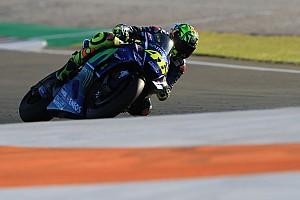 MotoGP Réactions Malgré une lourde chute, Rossi satisfait de sa première journée