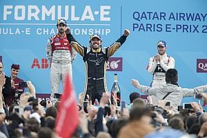 Fórmula E Crónica de Carrera Vergne festejó ante su gente en París