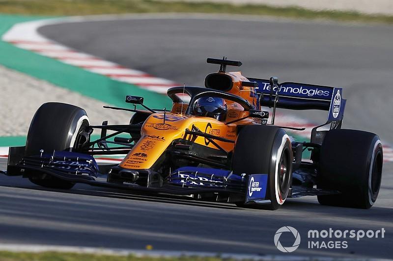 "Sainz: McLaren should be ""proud"" of first test day"