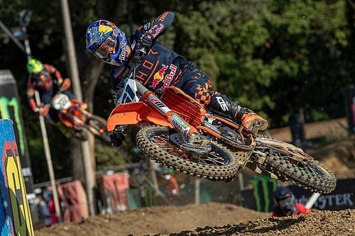 Prado, sancionado, pierde la victoria del MXGP de Lombardía