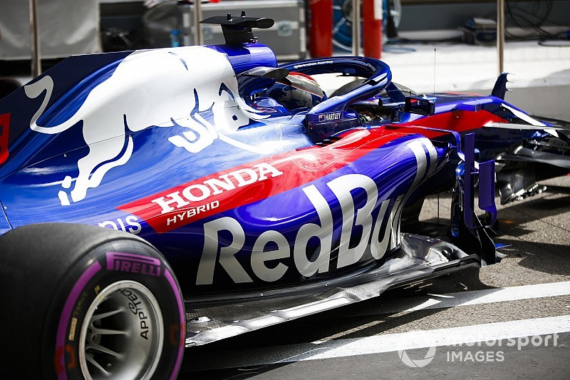 Toro Rosso revient à l'ancien moteur Honda en Russie