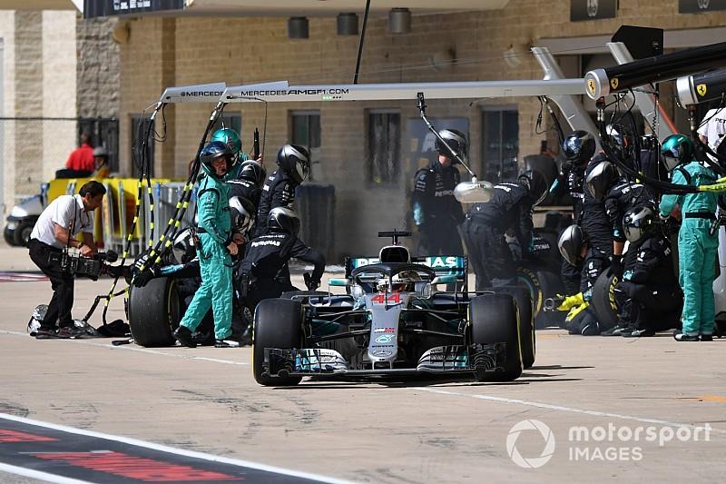 Хемілтон: Mercedes і я ускладнили собі життя на Гран Прі США