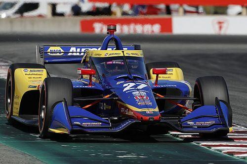 Rossi manda en el warm up de IndyCar en Laguna Seca