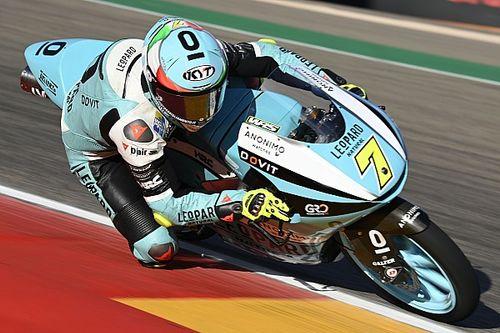 Moto3, Aragon, Libere 3: Foggia comanda, Acosta nono