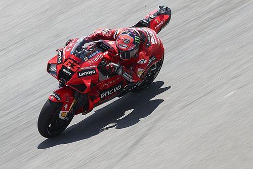 """Ducati voit le """"verre à moitié plein"""" mais doit encore progresser"""