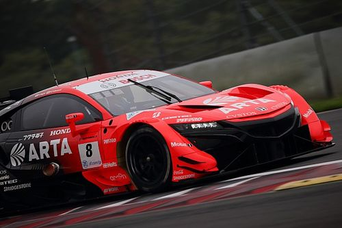 Fuji Super GT: ARTA leads Honda front row lockout