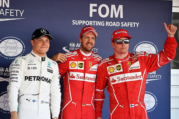 Formula 1 Sıralama turları raporu 2017 Rusya GP - Vettel polede, Ferrari ilk 2 sırada!