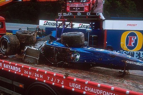 """Burti : """"Sans la mort de Senna, je n'aurais pas survécu"""""""