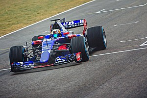 Diaporama - La Toro Rosso STR12 en piste