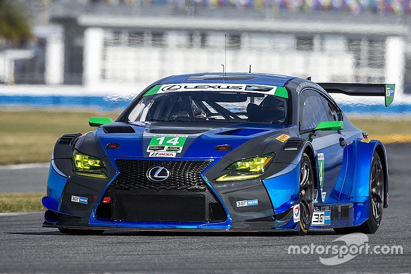 New Lexus RC F GT3 makes series debut