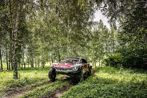 Silk Way Rally: Loeb and Viazovich on the charge