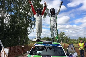 ERC Race report Estonia ERC: Sirmacis inherits victory after late crash for Lukyanuk