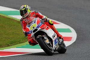 MotoGP Qualifying report Front row for Iannone, third in qualifying for Italian GP at Mugello