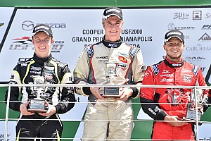 USF2000 Race report Martin nails first USF2000 win