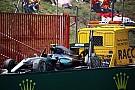 هاميلتون وروزبرغ يُغادران سباق إسبانيا من دون حصولهما على عقوبة