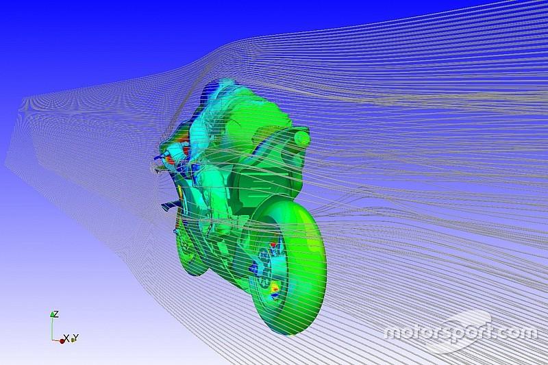 Ducati trabaja en el túnel del viento con maniquíes