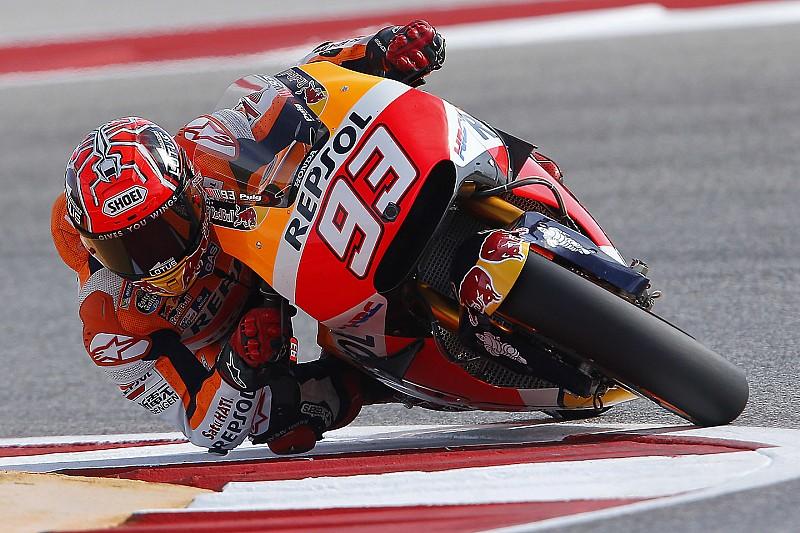 FP1 MotoGP Austin: Marquez kalahkan Lorenzo