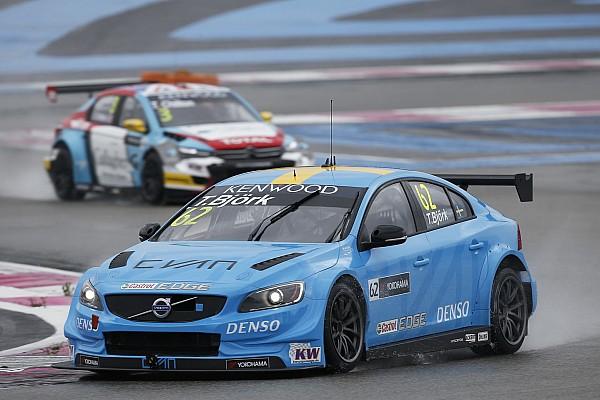 Paul Ricard WTCC: Bjork puts Volvo on top in final practice
