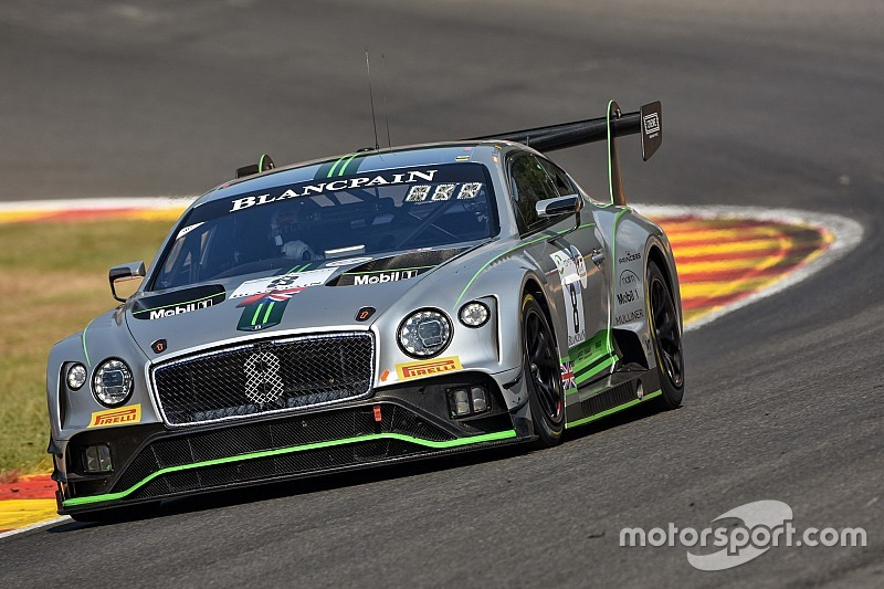 Bentley expands to four cars for Spa 24 Hours
