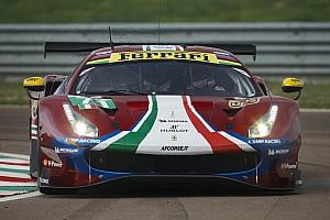 WEC Ultime notizie Ferrari: ecco lo shakedown della 488 GTE che ora è rossa metallizzata!