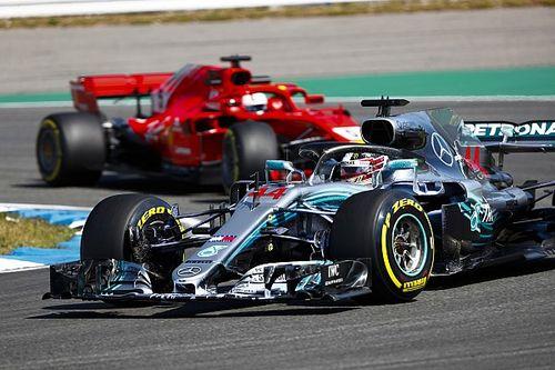 Vettel: Hopelijk krijgt Verstappen betere kans op strijd met Hamilton