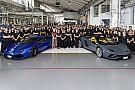 Automotive Lamborghini celebrates making 11,000th Huracan, 8,000th Aventador