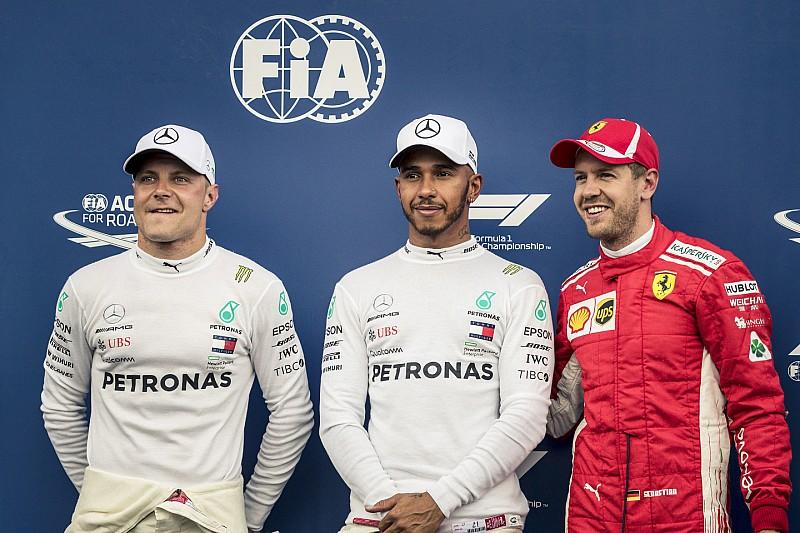 Fransa GP: Pole pozisyonu Hamilton'ın, Mercedes 1-2!