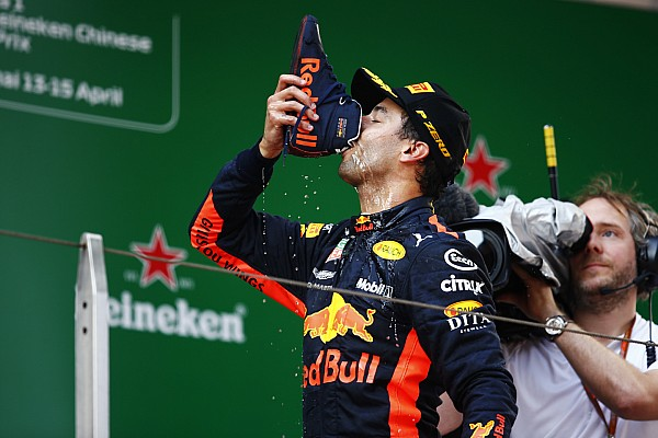 Formel 1 China 2018: Ricciardo jubelt dank goldener Strategie!