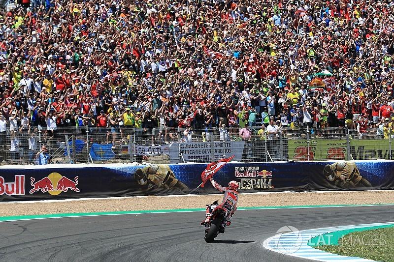 Marquez ve Honda galibiyete rağmen tam olarak mutlu değil