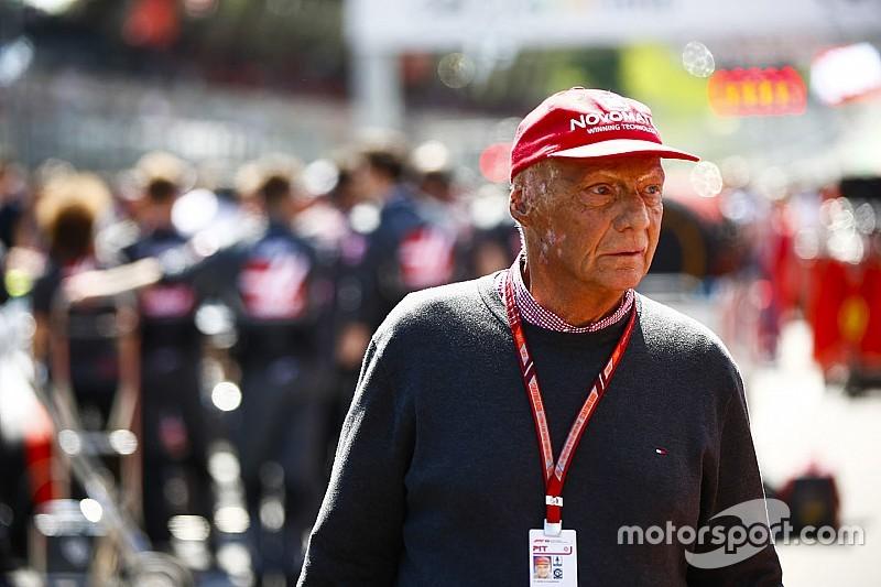 Lauda fue sometido a un trasplante de pulmón