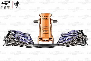 Formula 1 Analisi McLaren: ecco quali vantaggi può dare il nuovo muso della MCL33
