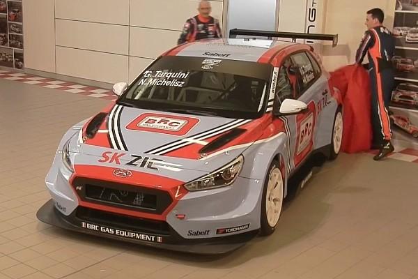 WTCR Ultime notizie Tolti i veli alla Hyundai i30 N TCR del BRC Racing Team a Cherasco