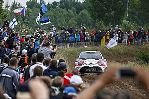 WRC 速報ニュース 【WRC】トヨタ、フィンランドで新感覚の観戦体験サービスを提供