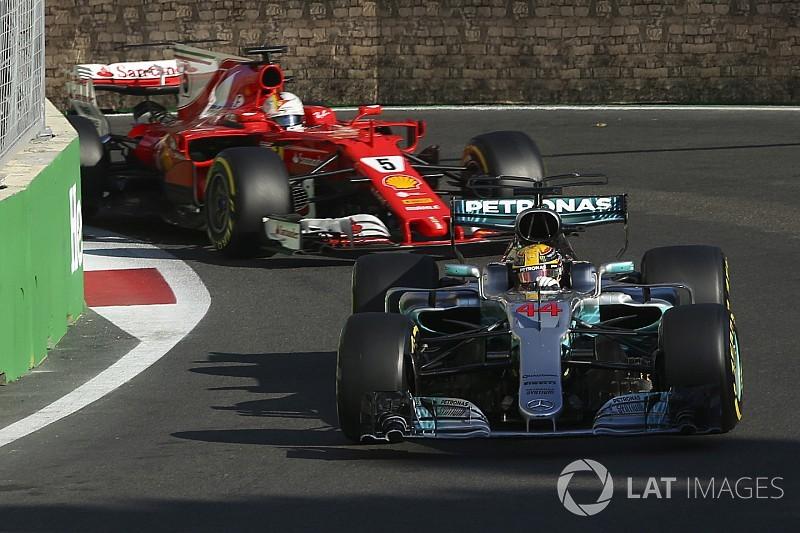 """【F1】ハミルトン、""""無礼""""なベッテルと話し合うことに興味はない"""