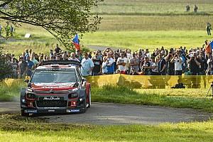 WRC Yarış ayak raporu Almanya WRC: Mikkelsen liderliğe yükseldi, Ogier üçüncü