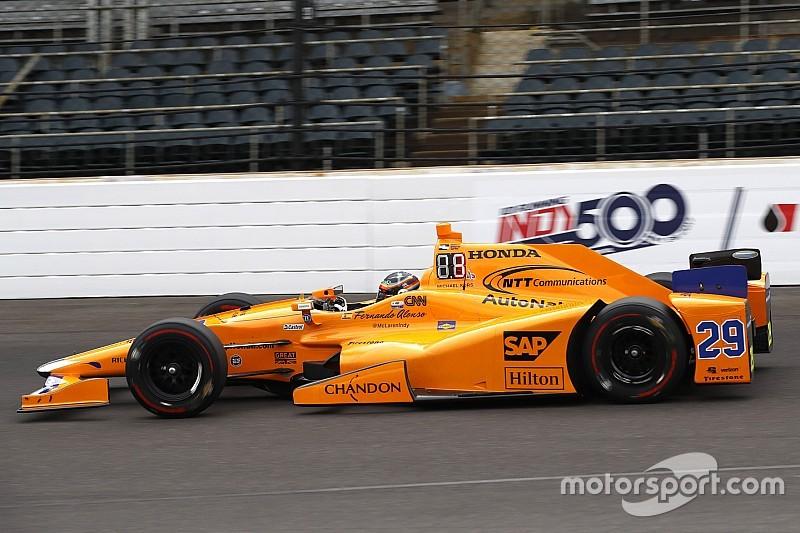 Indy 500: Alonso lidera la práctica de los Fast Nine