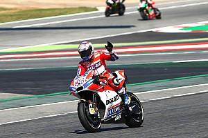 MotoGP Résumé de course Course - Dovizioso double la mise devant les pilotes Honda !