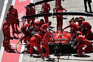 Los mecánicos de Ferrari sólo durmieron una hora... ¡y dio resultado!
