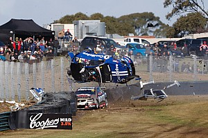 Supercars Breaking news Hazelwood reflects on 260 km/h Sandown crash