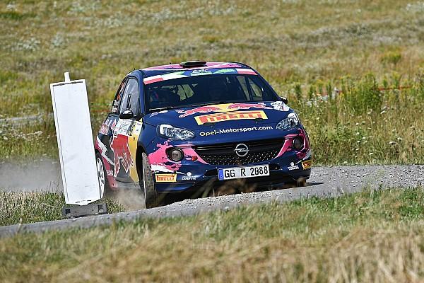 WRC Ultime notizie Jari Huttunen e Tamara Molinaro con le Opel Adam R2 in Germania