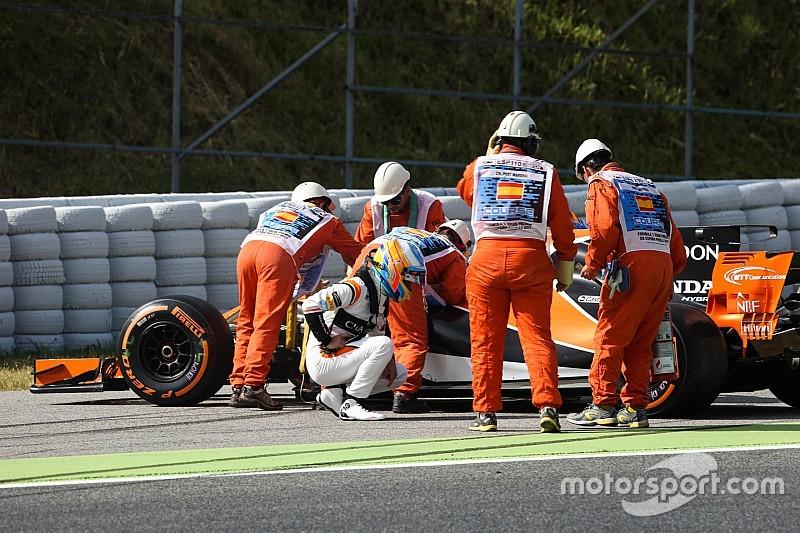 【F1】PUにまたもトラブル。マクラーレン「悲しみと失望を感じた」