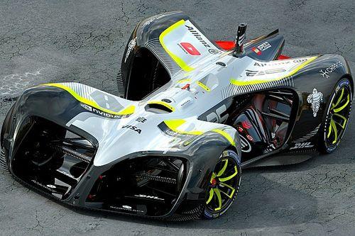 В Барселоне показали машины RoboRace