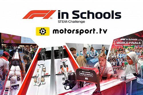 F1 in Schools World Final live uitgezonden op nieuw Motorsport.tv-kanaal