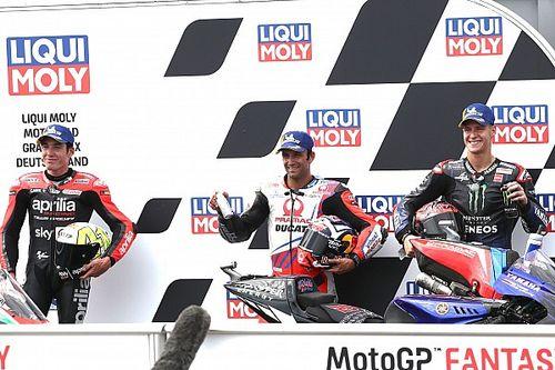 La parrilla de salida del GP de Alemania 2021 de MotoGP