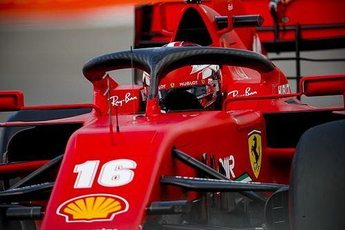 """Leclerc, """"enojado"""" con Ferrari tras la clasificación"""
