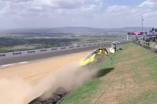 VIDEO: Calificación en Bathurst termina con fuerte accidente