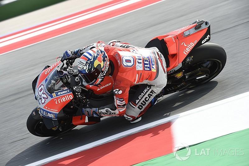Dovizioso empieza mandando en Misano; Márquez, 13º