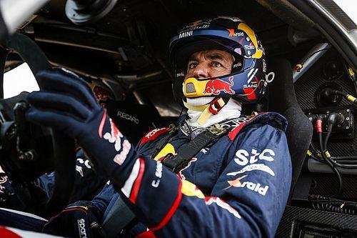Carlos Sainz y Laia Sanz, con MINI X-Raid en el Rally de Andalucía 2021