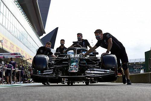Siga treino classificatório do GP de 70 anos da F1 em Tempo Real